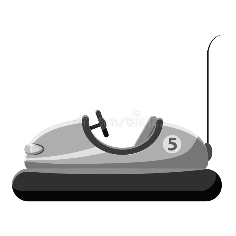 Icona della macchina del paraurti dei bambini illustrazione di stock