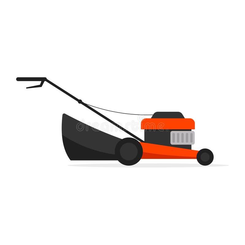 Icona della macchina della falciatrice da giardino illustrazione vettoriale
