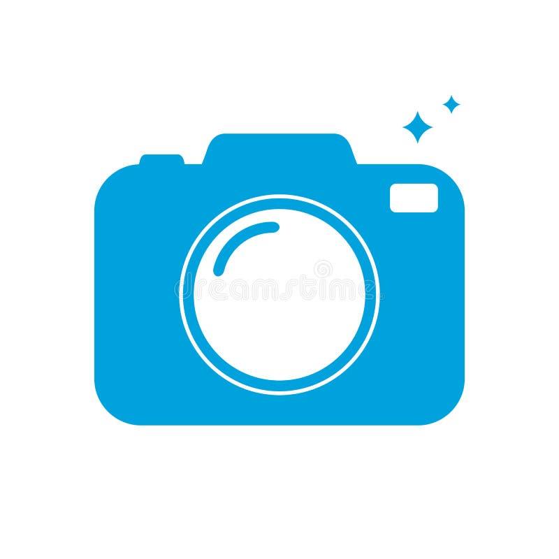 Icona della macchina fotografica della foto illustrazione di stock