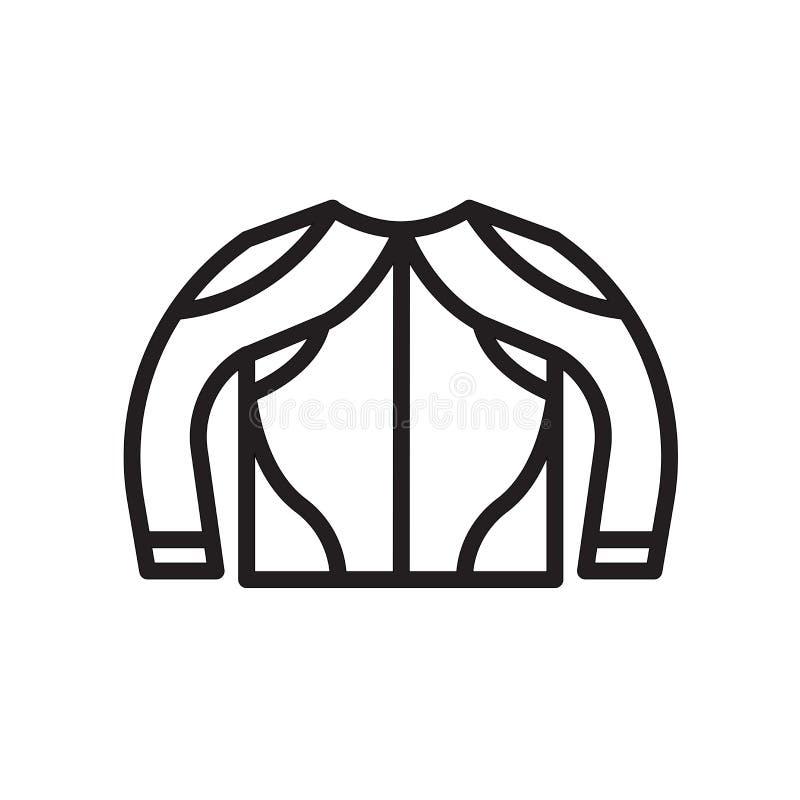 icona della maglia degli ingranaggi isolata su fondo bianco illustrazione vettoriale
