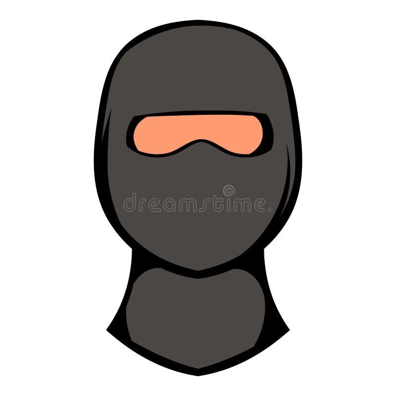 Icona della maschera di Ninja, fumetto dell'icona royalty illustrazione gratis