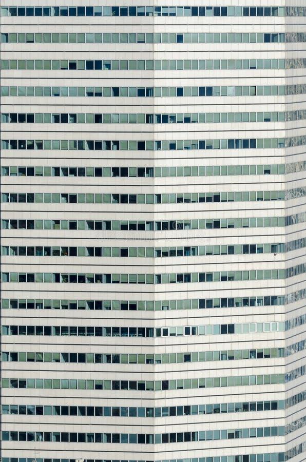 Icona della matita del grattacielo fotografie stock