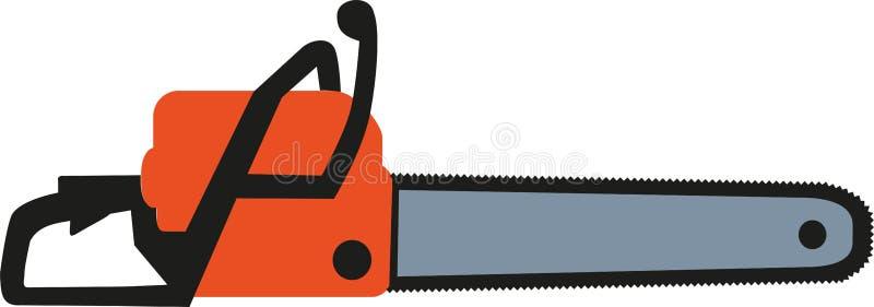 Icona della motosega illustrazione vettoriale