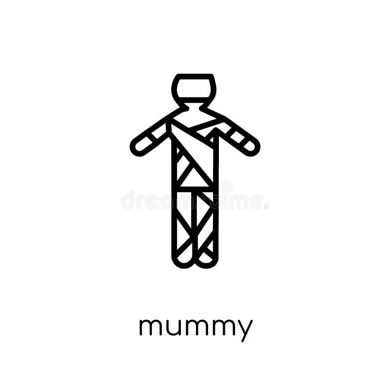 Icona della mummia dalla raccolta royalty illustrazione gratis
