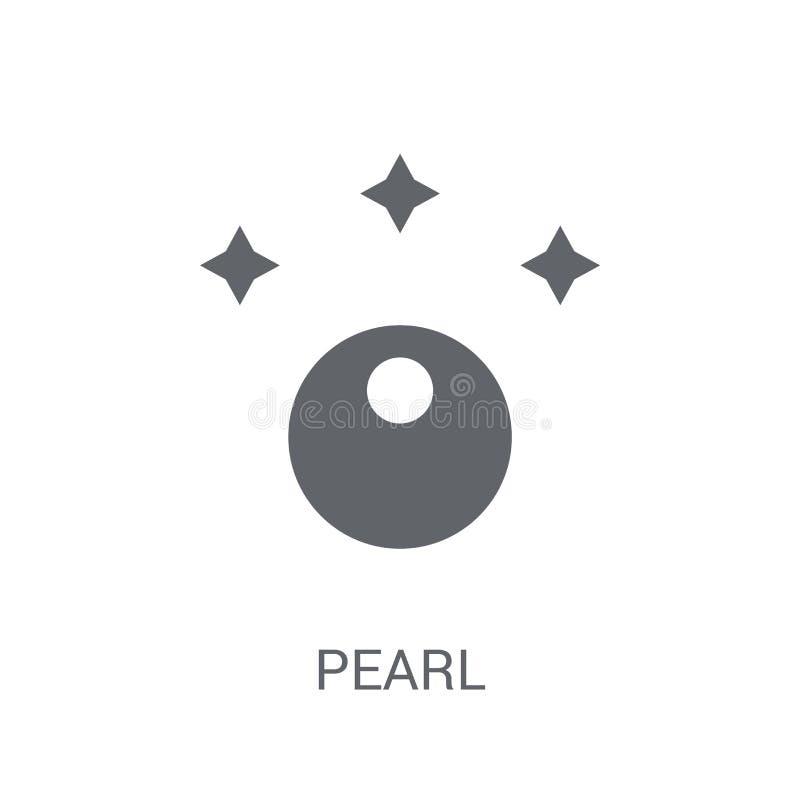 icona della perla  illustrazione vettoriale