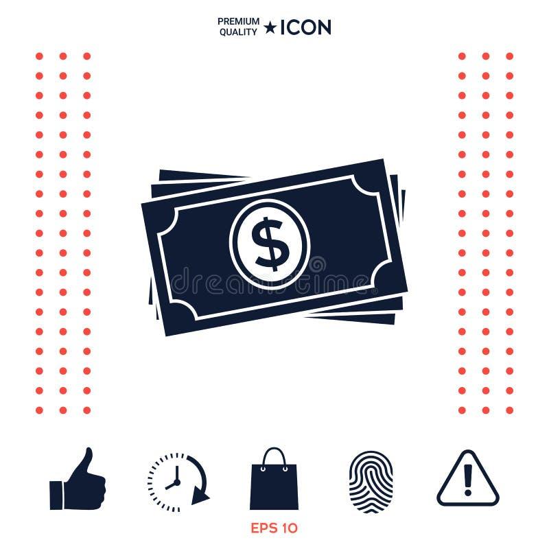 Download Icona Della Pila Delle Banconote Dei Soldi Illustrazione Vettoriale - Illustrazione di ricco, risparmio: 117975956