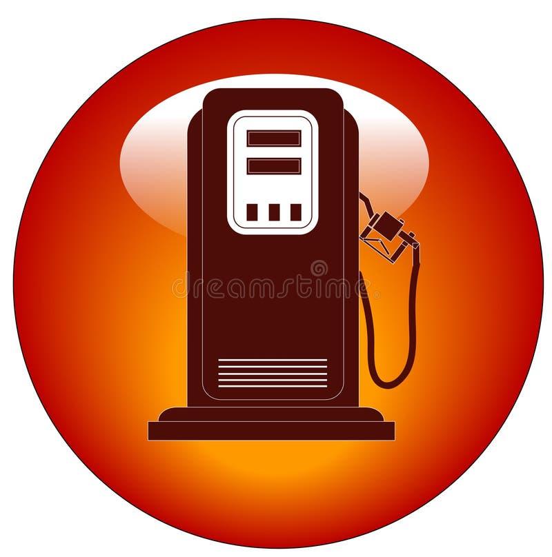Icona della pompa di gas illustrazione di stock