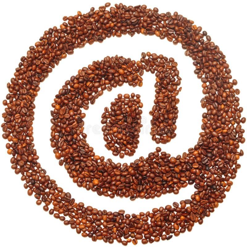 Icona della posta fotografia stock