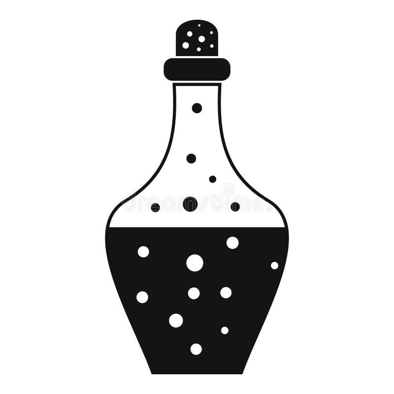 Icona della pozione della bevanda, stile semplice royalty illustrazione gratis