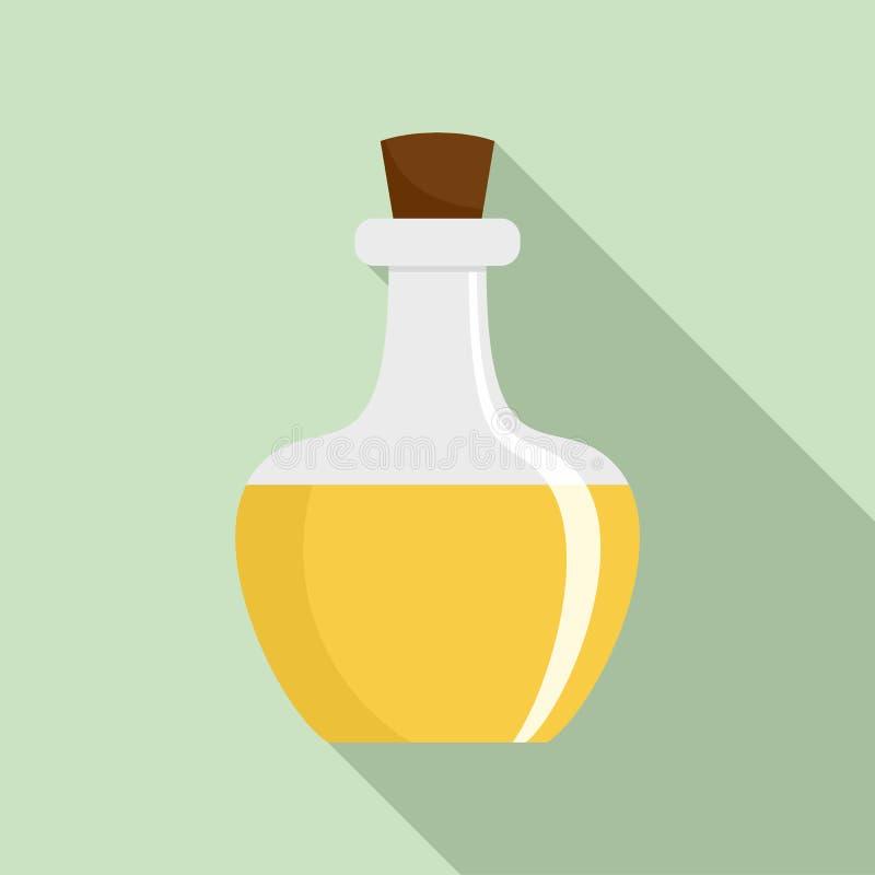 Icona della pozione della boccetta, stile piano royalty illustrazione gratis