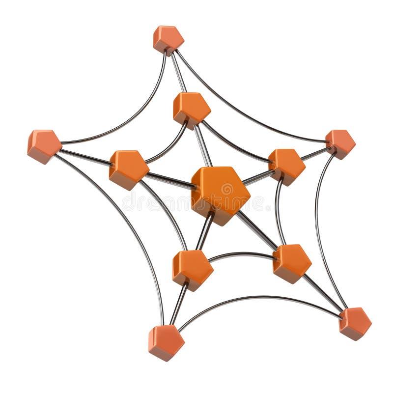 Icona della rete illustrazione di stock