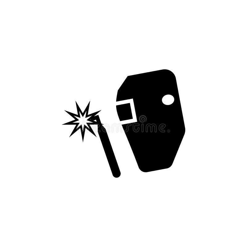 Icona della saldatura Elementi dell'icona di constraction Progettazione grafica di qualità premio Segni ed icona per i siti Web,  illustrazione vettoriale