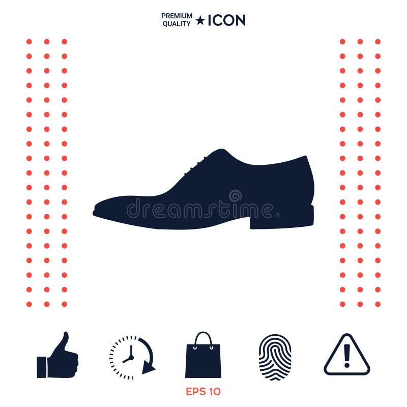 Download Icona Della Scarpa Del ` S Degli Uomini Voce Di Menu Nel Web Design Illustrazione Vettoriale - Illustrazione di uomini, modo: 117975946