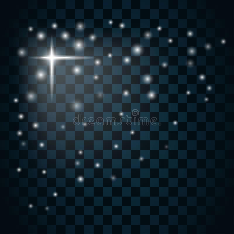 Icona 3 della scintilla della stella di lustro illustrazione vettoriale