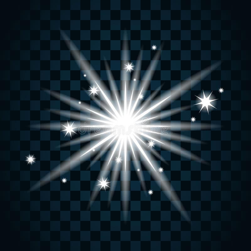 Icona 11a della scintilla della stella di lustro royalty illustrazione gratis