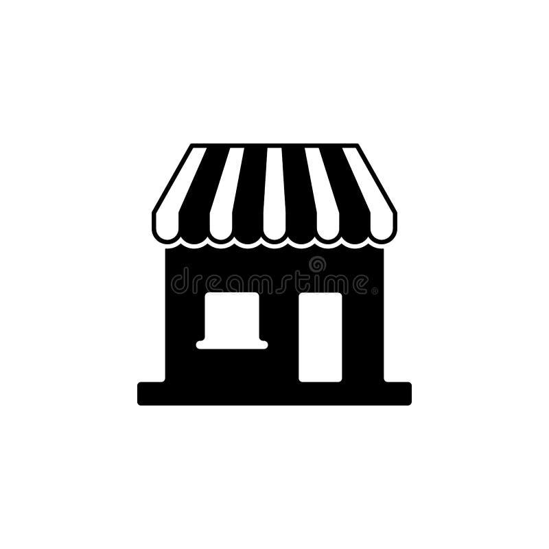Icona della stalla Elemento dell'icona della costruzione per i apps mobili di web e di concetto L'icona dettagliata della stalla  illustrazione vettoriale