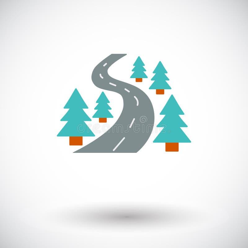 Icona della strada illustrazione vettoriale