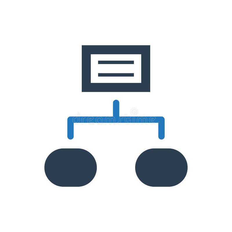 Icona della struttura di progetto royalty illustrazione gratis