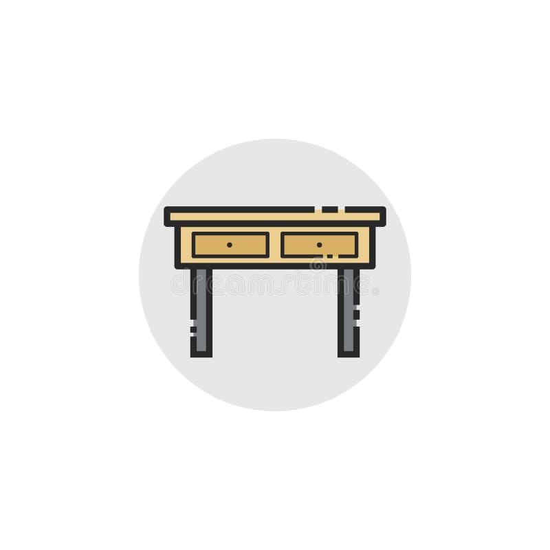 Icona della Tabella immagini stock libere da diritti