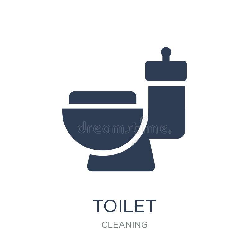 Icona della toilette  royalty illustrazione gratis
