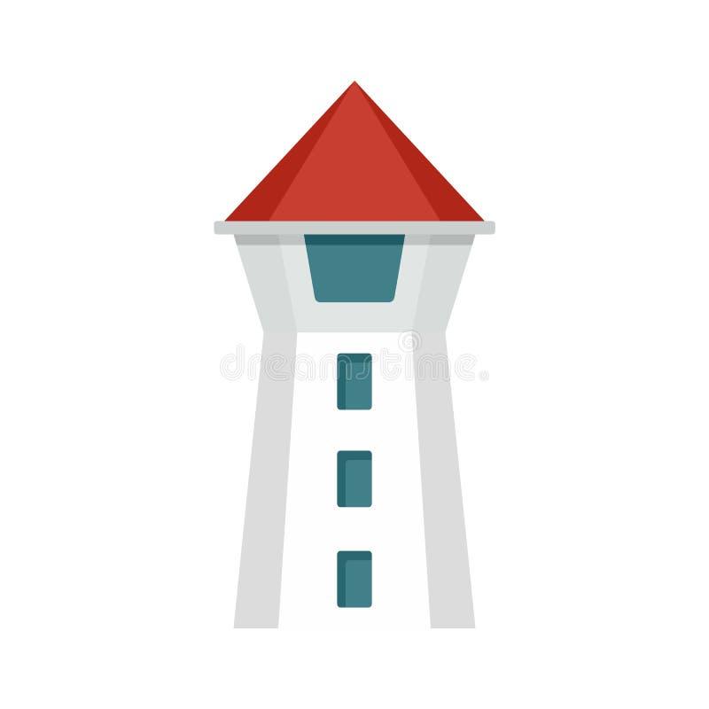 Icona della torre di Taipei, stile piano royalty illustrazione gratis