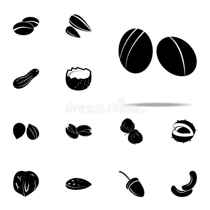 icona della violenza insieme universale delle icone dei dadi per il web ed il cellulare illustrazione vettoriale