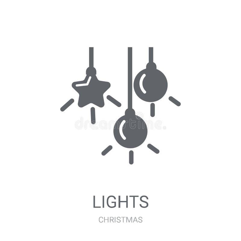Icona delle luci  illustrazione vettoriale
