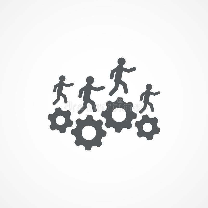 Icona delle risorse illustrazione di stock