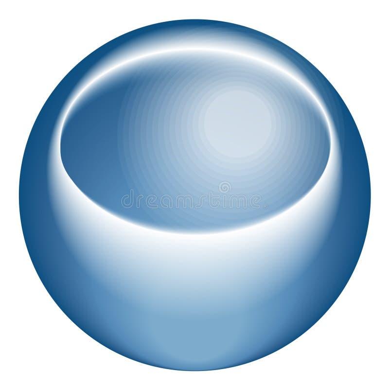 Icona dello spazio illustrazione vettoriale