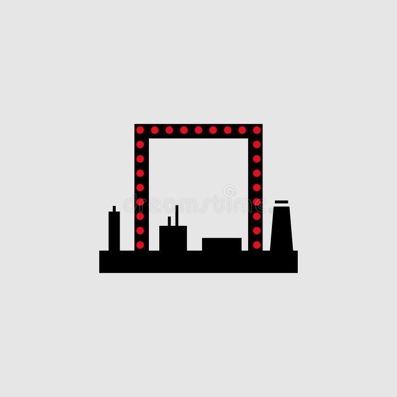 icona dello spogliatoio Elemento dell'icona del teatro per i apps mobili di web e di concetto L'icona dettagliata dello spogliato royalty illustrazione gratis