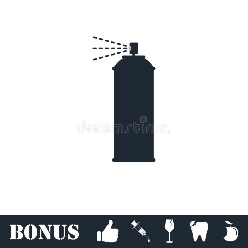 Icona dello spruzzo piana royalty illustrazione gratis