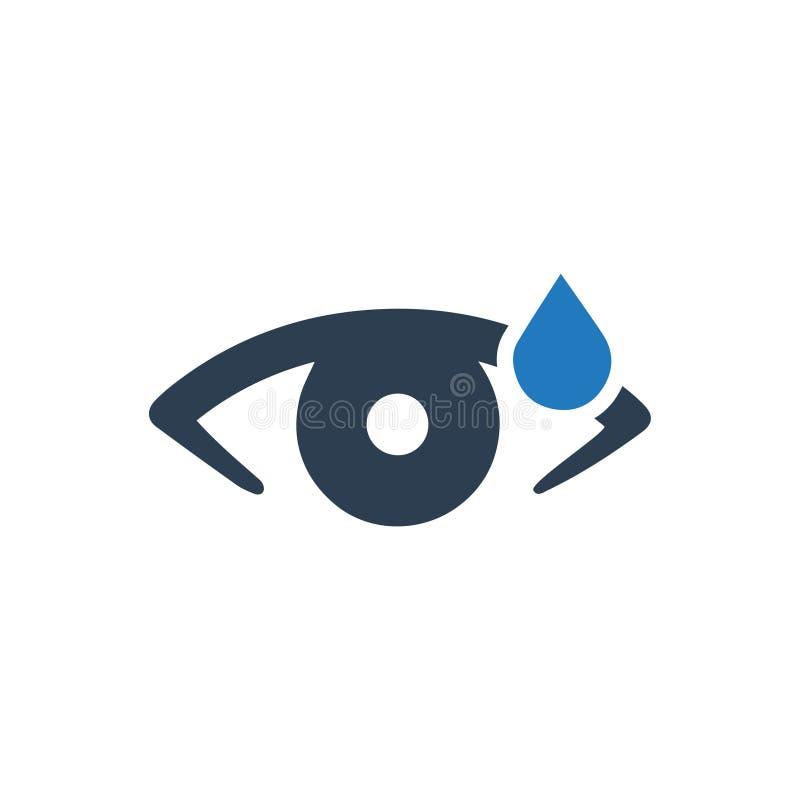 Icona dello strappo dell'occhio royalty illustrazione gratis
