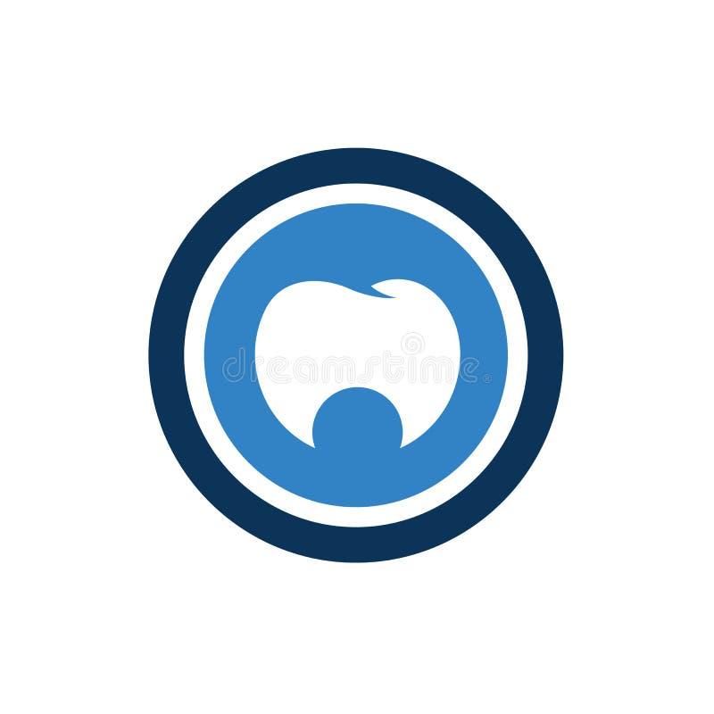 Icona dentaria dei denti puliti, illustrazione semplice di logo, concetto di progetto di sanità - vettore illustrazione vettoriale