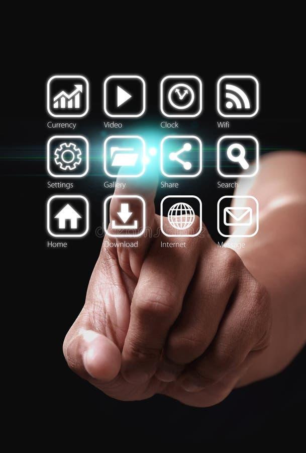 Icona di Apps immagine stock