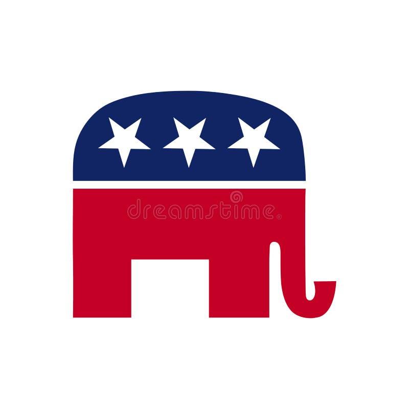 Icona di argomento di elezione immagini stock
