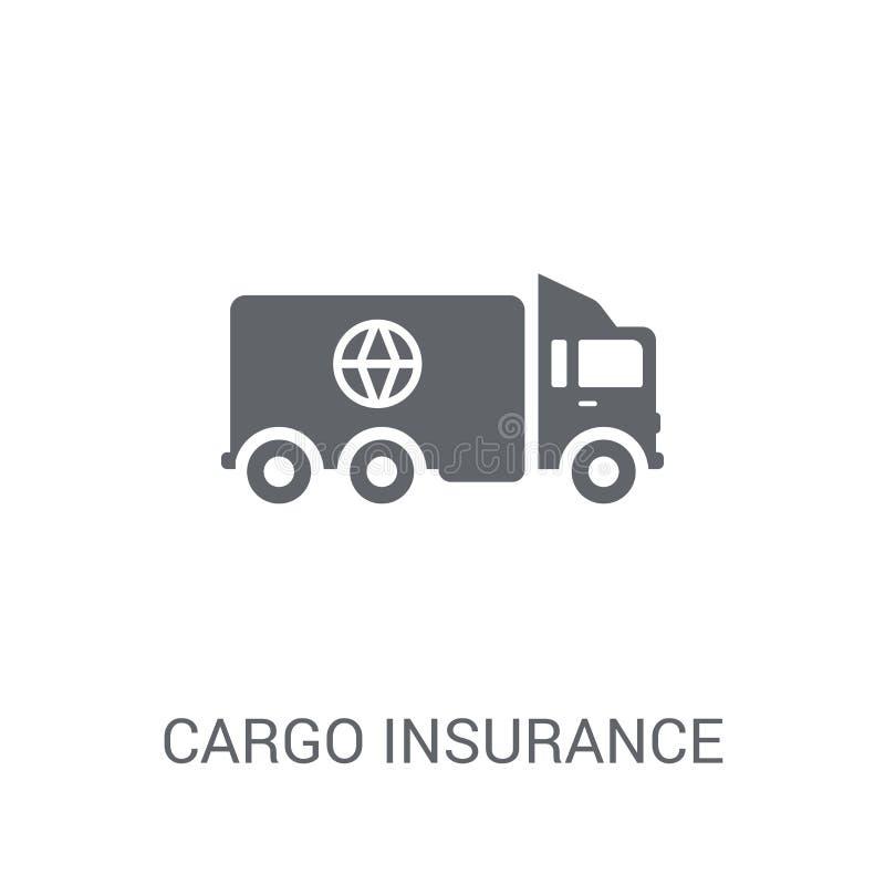 Icona di assicurazione di carico  royalty illustrazione gratis