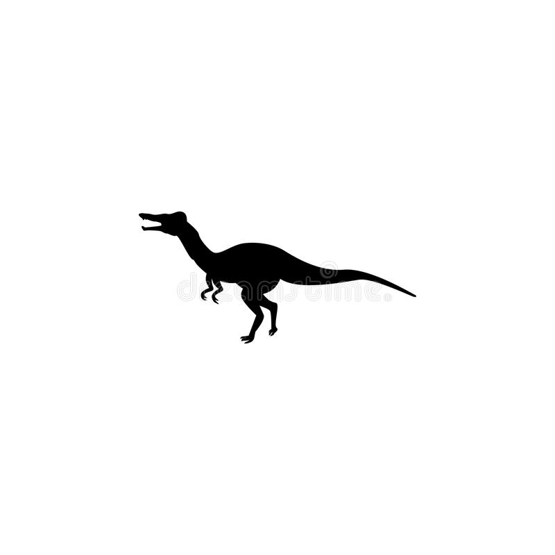 Icona di Baryonyx Elementi dell'icona del dinosauro Progettazione grafica di qualità premio Segni ed icona per i siti Web, desig  royalty illustrazione gratis