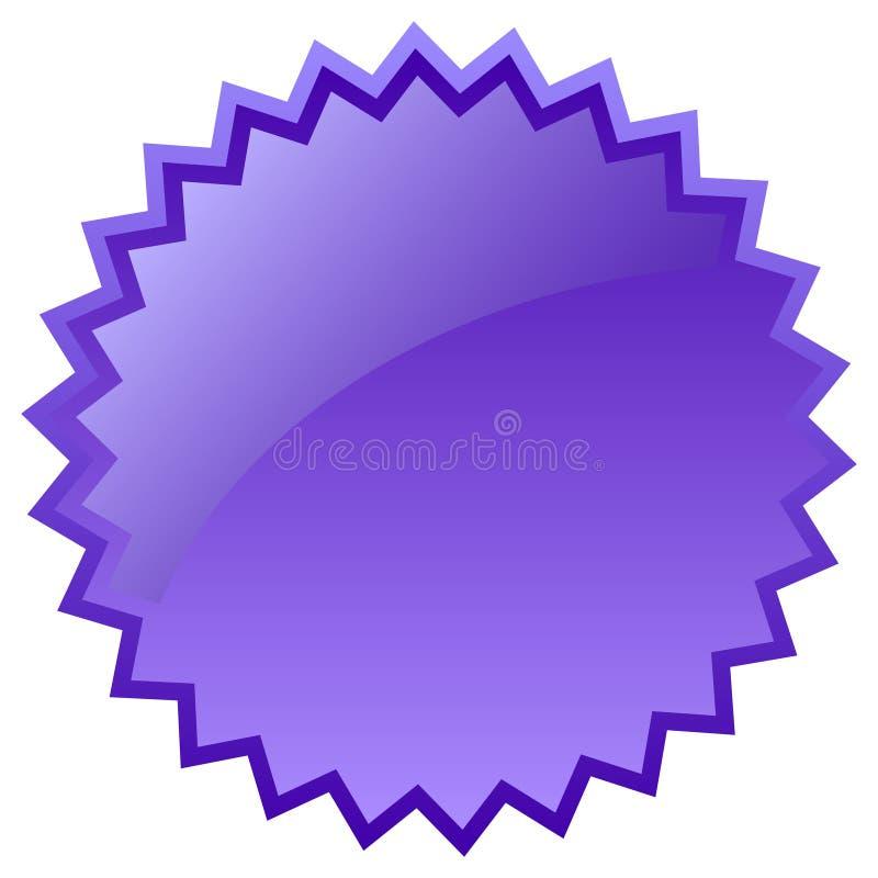 Icona di burst di vetro illustrazione di stock