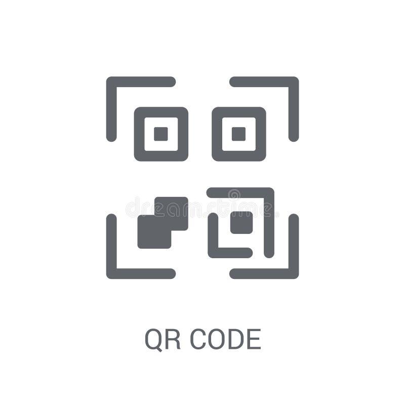 Icona di codice di Qr  illustrazione vettoriale