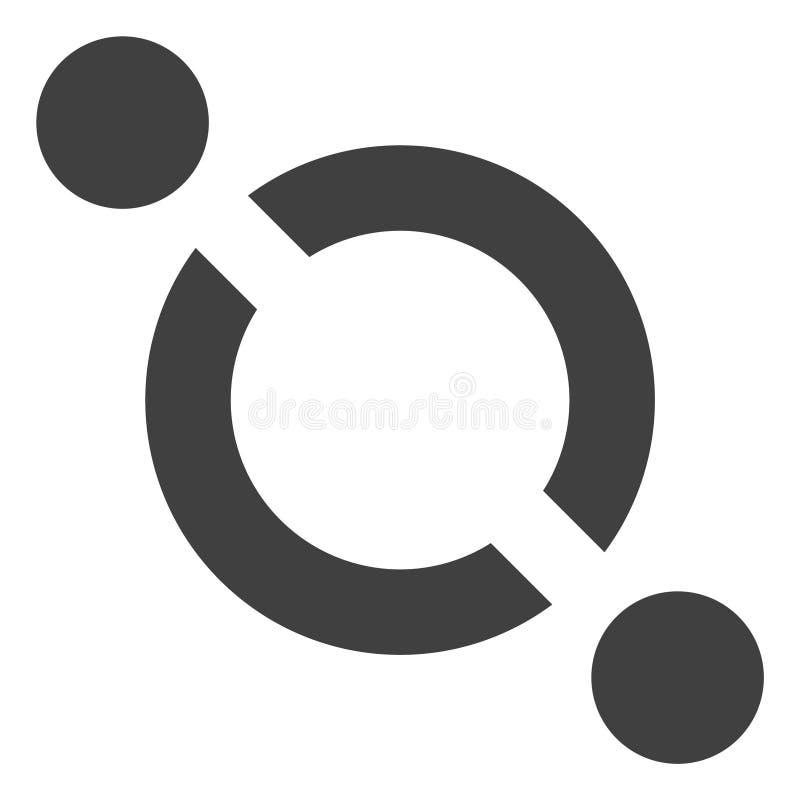 Icona di collegamento di vettore royalty illustrazione gratis