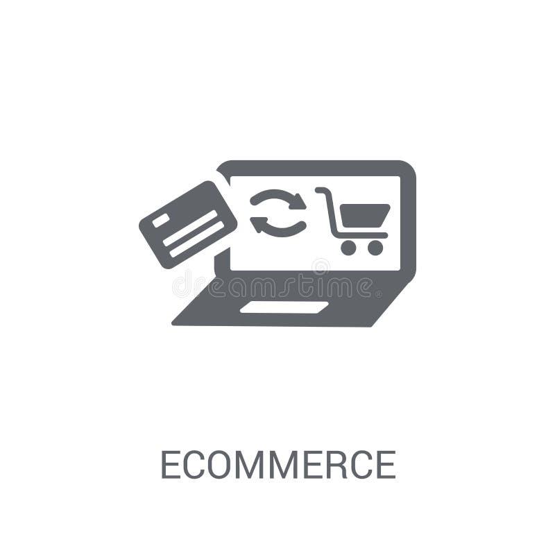 icona di commercio elettronico  illustrazione di stock
