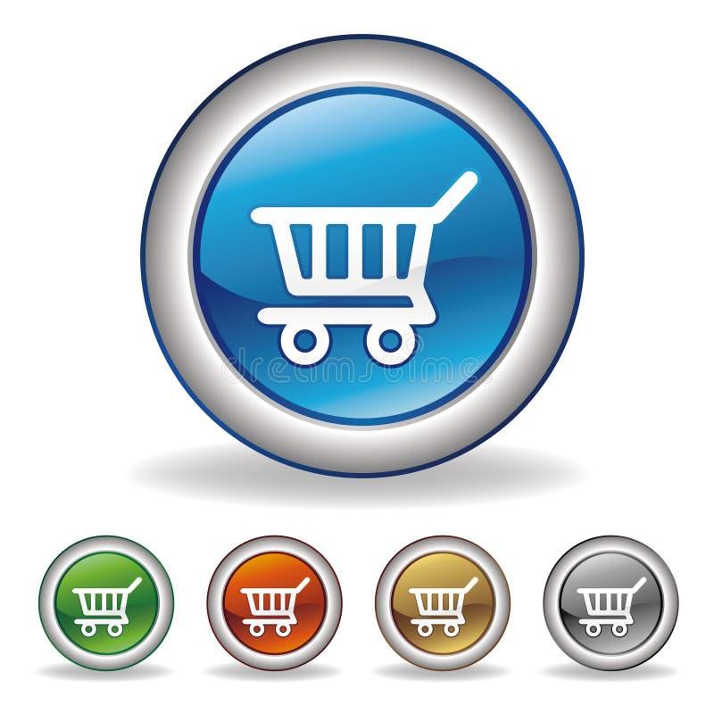 icona di commercio elettronico illustrazione vettoriale