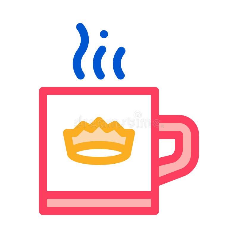 Icona di copertina di Crown Drink Cup royalty illustrazione gratis
