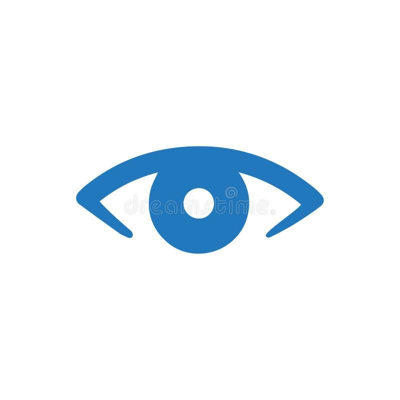 Icona di cura dell'occhio illustrazione vettoriale