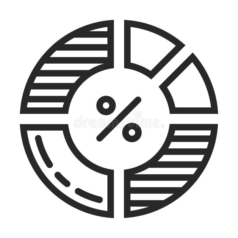 Icona di diagramma illustrazione vettoriale