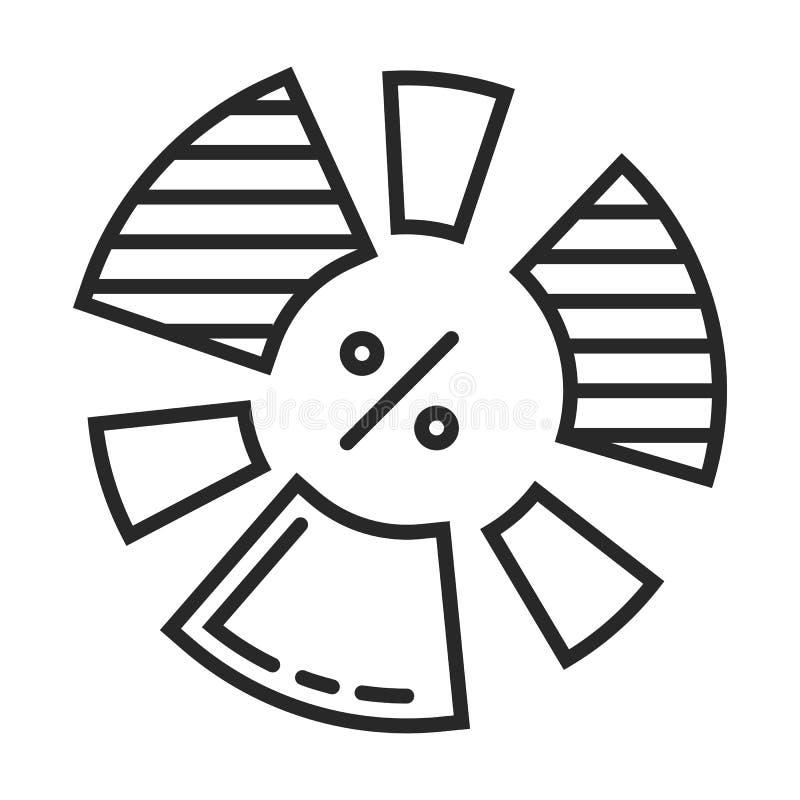 Icona di diagramma royalty illustrazione gratis