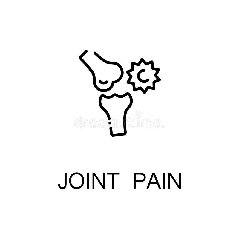 Icona di dolori articolari royalty illustrazione gratis