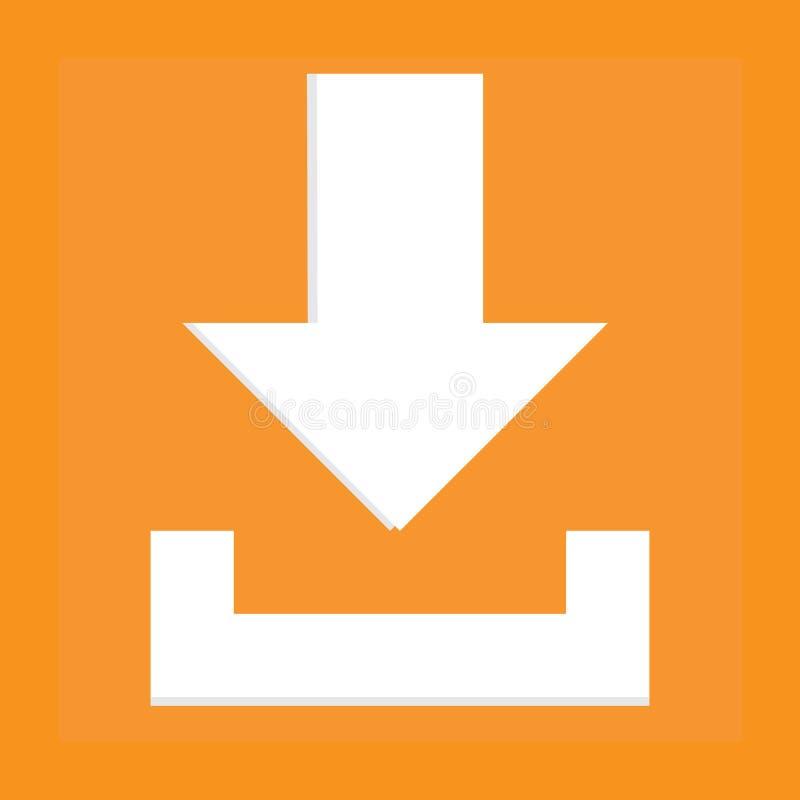 Icona di Dowload fotografie stock