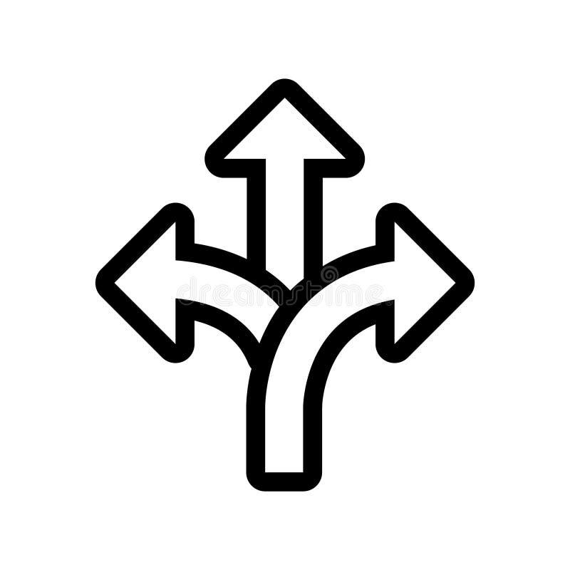 Icona di flessibilità, illustrazione di vettore illustrazione di stock
