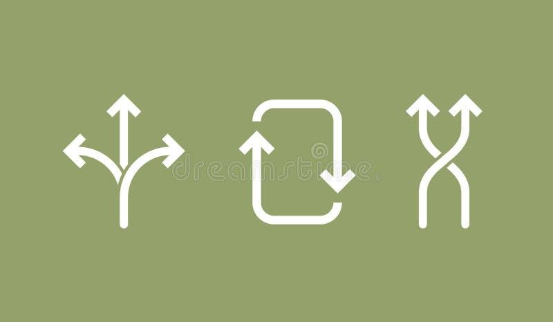 Icona di flessibilità illustrazione di vettore di concetto royalty illustrazione gratis